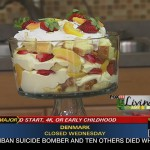 Peach and Rice Trifle recipe