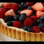 Peach Glaze Pie recipe