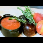 Peach Soup with Wine recipe