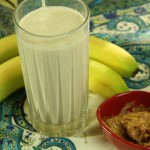 Peanut Butter 'n' Banana Smoothie recipe