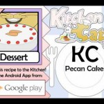 Pecan Applesauce Cake recipe