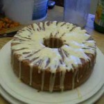 Pecan Sour Cream Pound Cake recipe