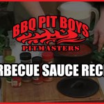 Pit Barbecue Sauce recipe