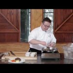 Poached Beef Tenderloin with Steamed Vegetables recipe