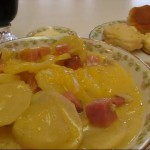 Polenta with Asiago and Saut ed Vegetables recipe