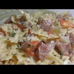 Pork and Pasta Skillet Dinner recipe