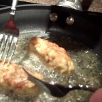 Potato and Ham Croquettes with Roasted Red Pepper Sauce recipe
