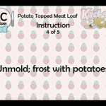 Potato-Topped Meat Loaf recipe