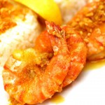 Prawns with Lemon-Garlic Butter recipe