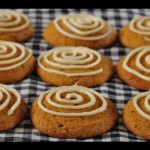 Pumpkin Cookies with Raisinets recipe