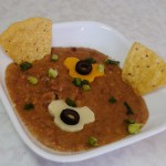 Quick Refried Salsa Beans recipe