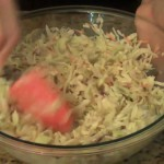 Quick Vinegar Slaw recipe