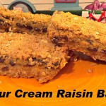 Raisin Bars recipe