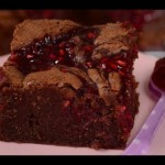 Raspberry Chip Brownies recipe
