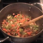 Red Rice with Vegetables recipe