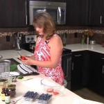 Red, White and Blueberry Bars recipe
