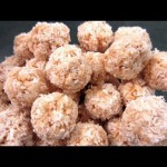 Rice and Coconut Snowballs recipe