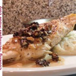 Roast Breast of Chicken with Mushroom Duxelles and Herb Butter recipe