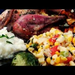 Roast Stuffed Cornish Game Hens recipe