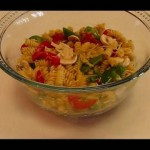 Rotini with Fresh Bell Peppers recipe