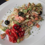 Salmon and Avocado Pasta Salad recipe
