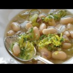Salmon and White Bean Stew recipe