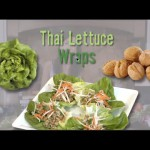 Salmon Pistachio Lettuce Wraps recipe