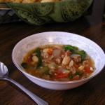 Sausage and Vegetable Soup recipe