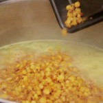 Sauteed Corn with Bacon recipe