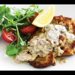 Sauteed Cubed Veal in Cream Sauce recipe