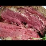 Savory Roasted Prime Rib recipe