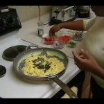 Scrambled Eggs with Lox and Cream Cheese recipe