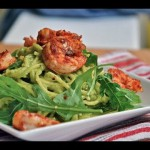Shrimp and Avocado Fettuccine Alfredo recipe