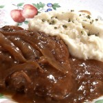 Slow-Cooked Steak and Gravy recipe