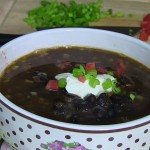 Sombrero Black Bean Chowder recipe