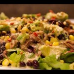 Southwestern Pork Salad recipe