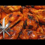 Soy-Chili Chicken Wings recipe