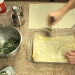 Spanakopita – Greek Spinach & Cheese Pie recipe