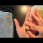 Spanish Hazelnut Cookies recipe