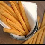 Spicy Cheddar Cheese Straws recipe