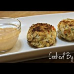 Spicy Crab Cakes with Red Pepper Sauce recipe
