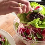 Spicy Grape & Chicken Lettuce Cups recipe