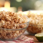 Spicy Sweet Raisinets Popcorn recipe