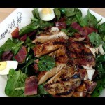 Spinach Chicken Salad recipe