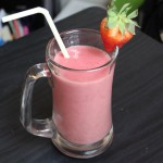 Strawberry-Banana Breakfast Shake recipe