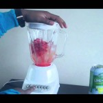 Strawberry-Banana Lime Slush recipe