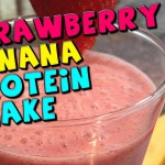 Strawberry Dairy Shake recipe