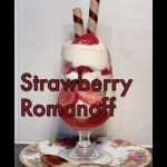 Strawberry Romanoff Pie recipe