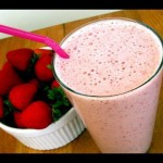 Strawberry Vanilla Smoothie recipe