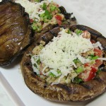 Stuffed Mushrooms with Pistachios recipe